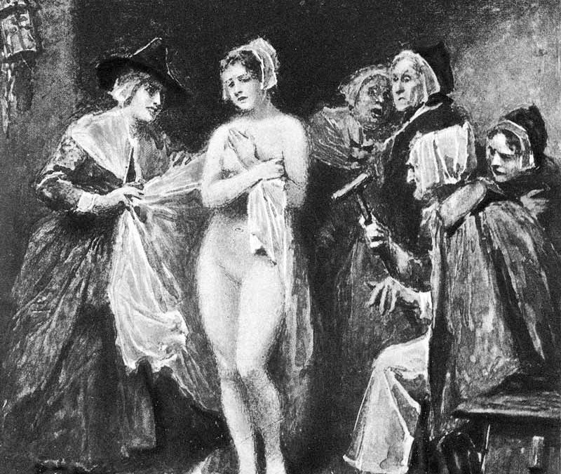 Witches, Familiars, Teats and the Devil's Mark