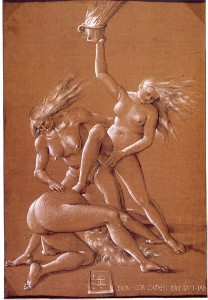 Three Witches by Hans Baldung, 1514