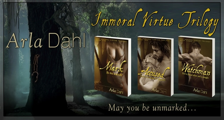 RELEASE DAY! The Watchman (Immoral Virtue, #3)